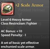 2 Scale Armor