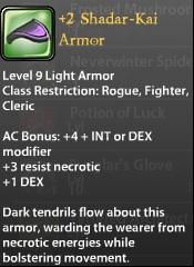 2 Shadar-Kai Armor