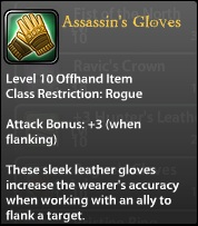 Assassin's Gloves