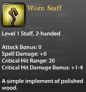 Worn Staff