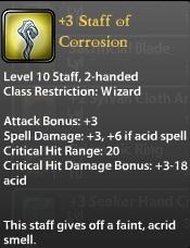 3 Staff of Corrosion