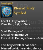 Blessed Holy Symbol