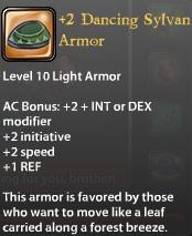 2 Dancing Sylvan Armor
