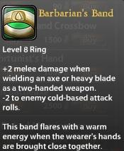 Barbarian's Band