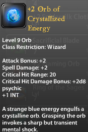 2 Orb of Crystallized Energy