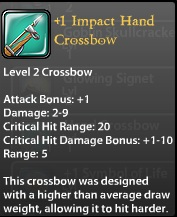 1 Impact Hand Crossbow