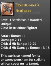 Executioner's Battleaxe