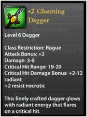 Gleaming Dagger2