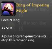 Ring of Imposing Might