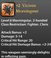 2 Vicious Morningstar