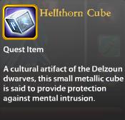 Hellthorn Cube
