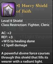 1 Heavy Shield of Faith