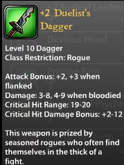2 Duelist's Dagger