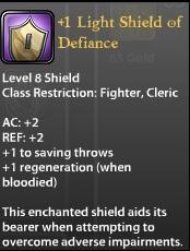 1 Light Shield of Defiance