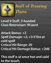 Staff of Freezing Flame