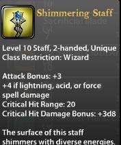 Shimmering Staff