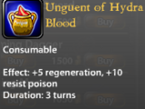 Unguent of Hydra Blood
