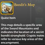 Bandit's Map