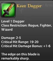 Keen Dagger