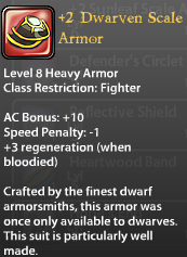 2 Dwarven Scale Armor