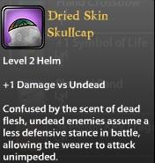 Dried Skin Skullcap