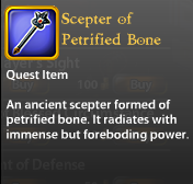 Scepter of Petrified Bone