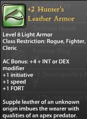 2 Hunter's Leather Armor