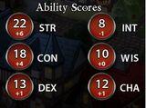 Ability Scores