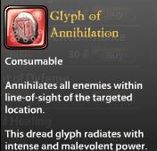 Glyph of Annihilation