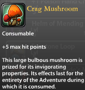 Crag Mushroom