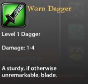 Worn Dagger