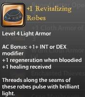 1 Revitalizing Robes