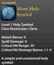 Worn Holy Symbol