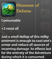 Ointment of Defence