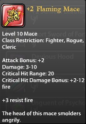 2 Flaming Mace