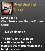 Steel Studded Loop