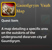 Gauntlgrym Vault Map