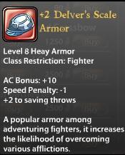 2 Delver's Scale Armor