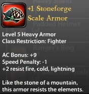 1 Stoneforge Scale Armor