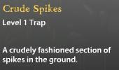 Crude Spikes