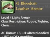 +1 Bloodcut Leather Armor
