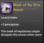 Mask of the Five Senses