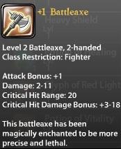 1 Battleaxe