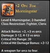 2 Orc Foe Morningstar