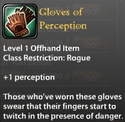 Gloves of Perception