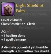 Light Shield of Faith