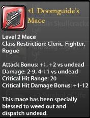 1 Doomguide's Mace