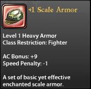 1 Scale Armor