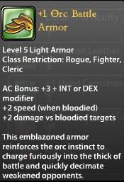 1 Orc Battle Armor