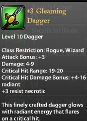3 Gleaming Dagger